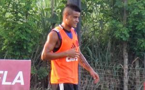 Éverton Flamengo (Foto: Thales Soares)