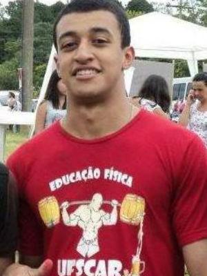 Panco estudava na UFSCar e morreu em 23 de fevereiro de 2014 (Foto: Reprodução/Facebook)