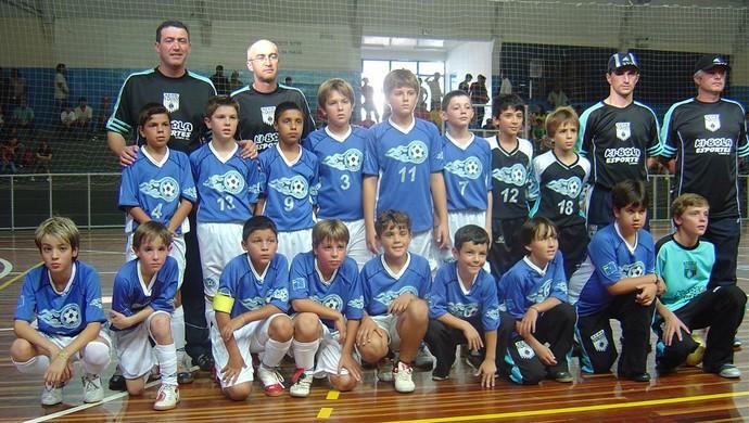 Alisson Farias inter futsal (Foto: Arquivo Pessoal)