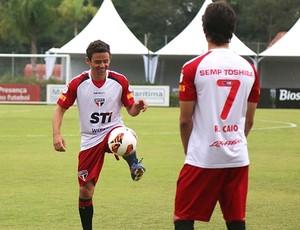 Juan, lateral-esquerdo São Paulo (Foto: Rubens Chiri / Site oficial do São Paulo FC)