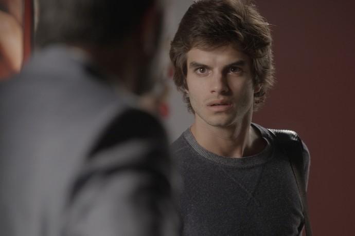 Fabinho nunca escondeu que sentia ciúmes e tentou prejudicar Jonatas (Foto: TV Globo)