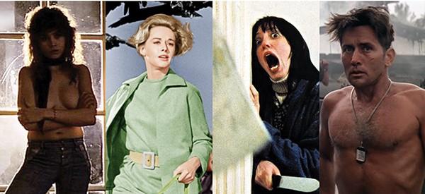 'Último Tango em Paris' (1972), 'Os Pássaros' (1963), 'O Iluminado' (1980), 'Apocalypse Now' (1979) (Foto: Divulgação)