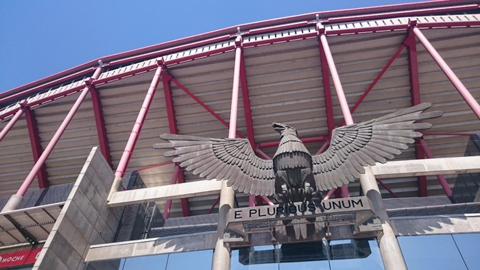 Estádio da Luz, do Benfica, em Lisboa