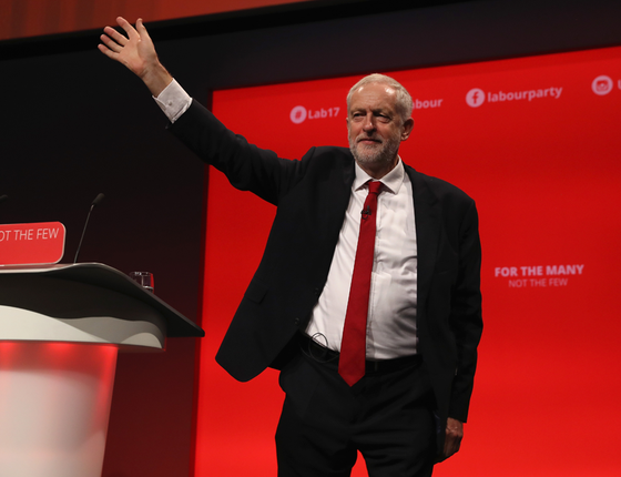 O trabalhista britânico Jeremy Corbyn (Foto:  Dan Kitwood/Getty Images)
