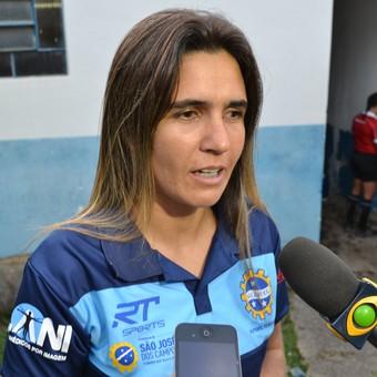 Emily Lima São José Futebol Feminino (Foto: Filipe Rodrigues)