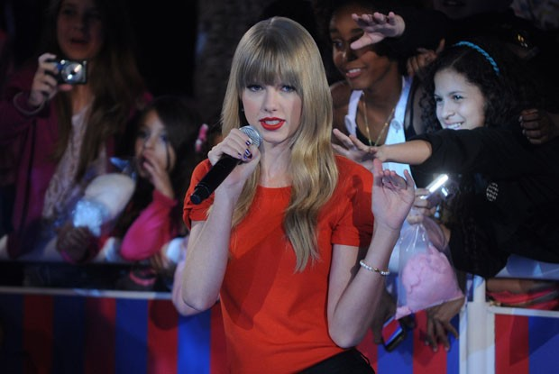 Taylor Swift no TV Xuxa (Foto: Blad Meneghel/ Xuxa Produ&#231;&#245;es)