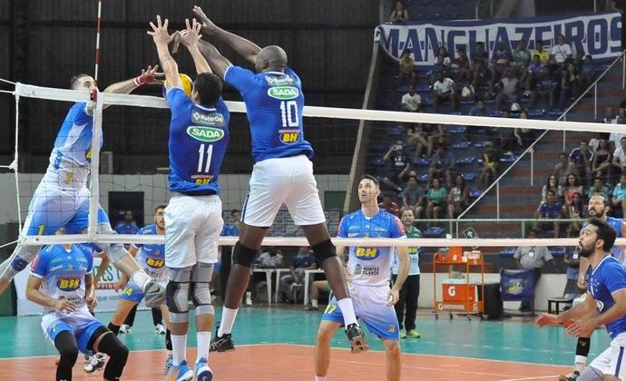 Cruzeiro Montes Claros Sul-Americano (Foto: Alexandre Loureiro/CBV)