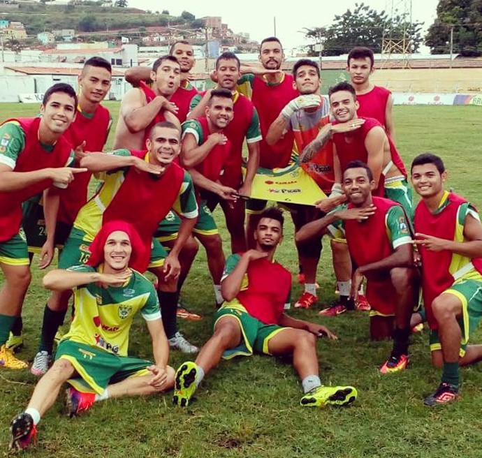 Treino Picos (Foto: Reprodução/Facebook)