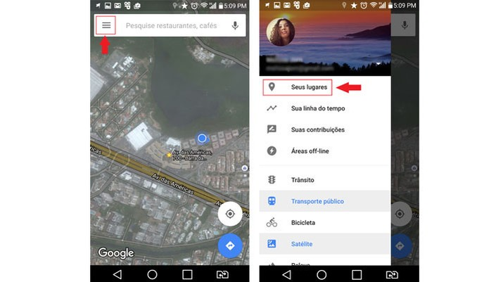 Google Maps (Foto: Reprodução/Ana Marques)