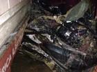 Motorista fica em estado grave após carro ser atingido por trem em Irati