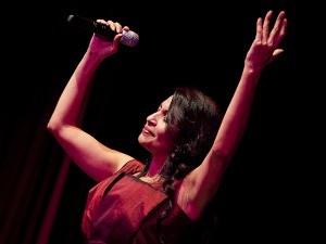 Cantora Eliana Printes é atração do Paço Municipal (Foto: Divulgação/Bruna Prado)