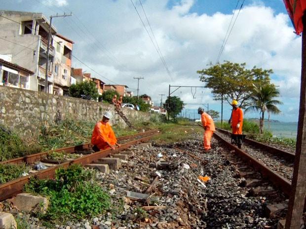 Trem Salvador (Foto: Imagem TV Bahia)