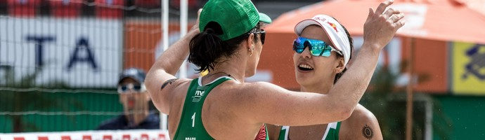 Agatha e Duda - Vôlei de Praia Rio de Janeiro (Foto: Daniel Zappe/MPIX/CBV)