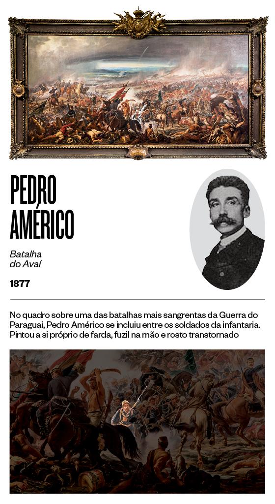 """""""Batalha do Avaí"""" - 1877 - Pedro Américo (Foto: Stefano Martini/ÉPOCA e reprodução)"""