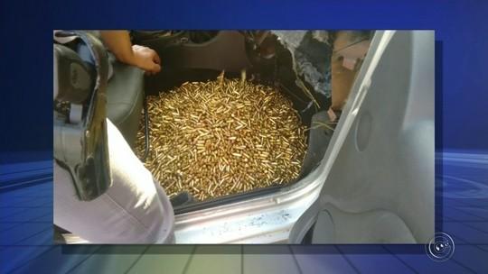 Polícia apreende armas e munições de uso exclusivo das Forças Armadas