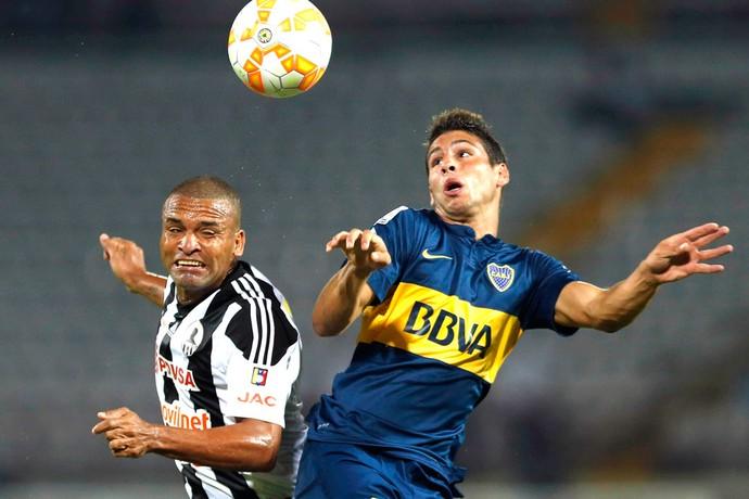 Boca Juniors X Zamora (Foto: Agência Reutes)