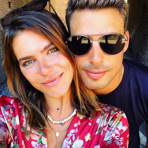 Mariana Goldfarb posa com Cauã Reymond (Foto: Instagram/Reprodução)