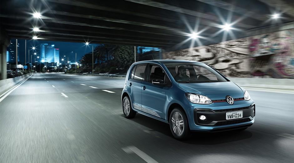 Volkswagen up!: carro deve ser atualizado (Foto: Divulgação)