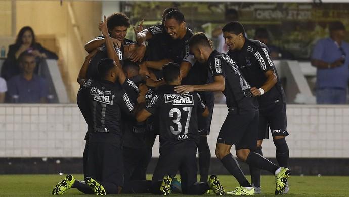 Jogadores Santos (Foto: Ricardo Saibun/Santos FC)