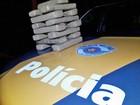 Adolescente paraguaia é apreendida com 15 quilos de maconha em mala