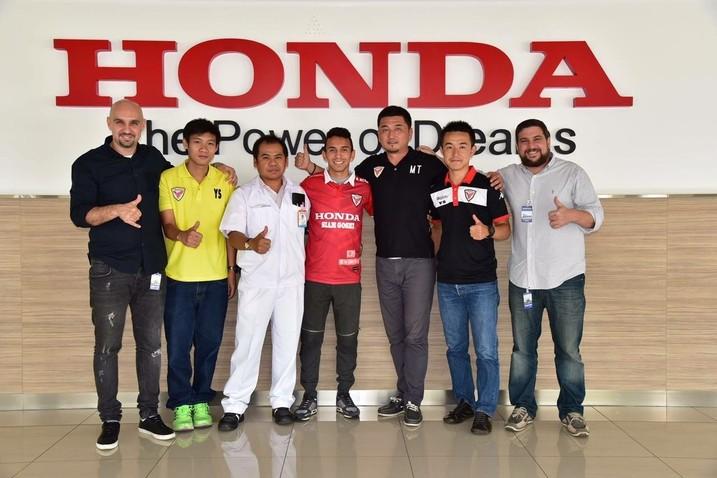 Rafinha Honda Tailândia