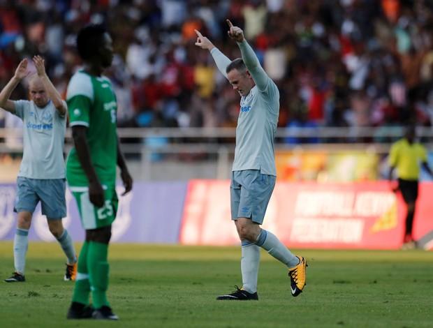 Wayne Rooney estreia Everton