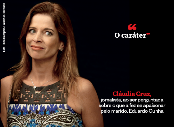 Frases que resumem a semana | Cláudia Cruz (Foto: Dida Sampaio/Estadão Conteúdo)