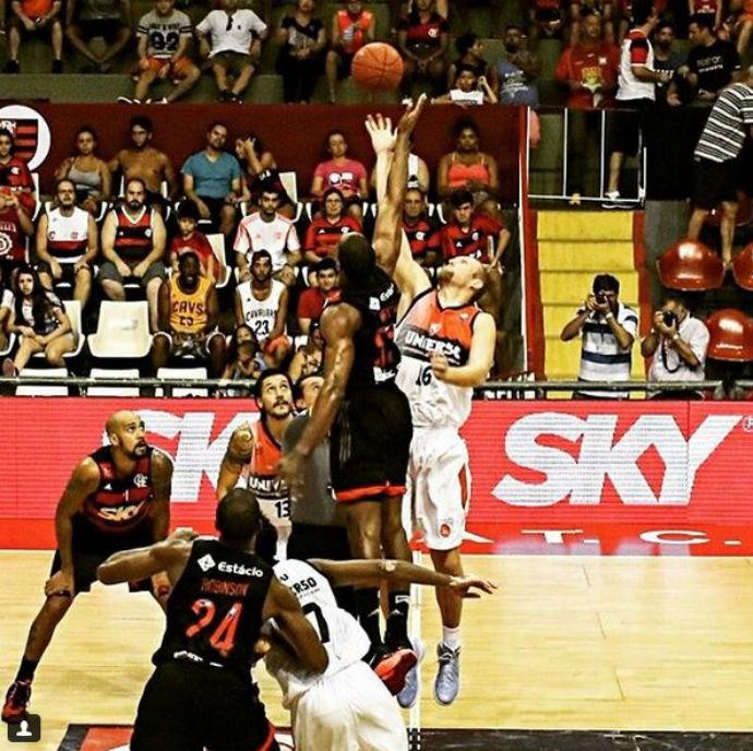 NBB, Flamengo x Vitória-BA (Foto: Divulgação/NBB)