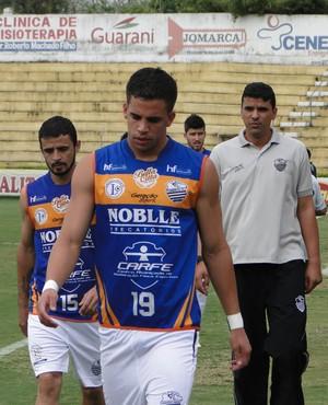 André, atacante do Comercial (Foto: Rafael Alves / Comercial FC)