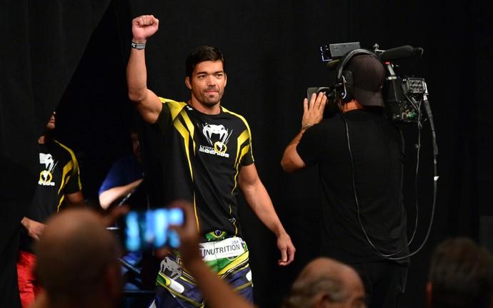 Lyoto Machida pesagem UFC Hollywood (Foto: Jason Silva)