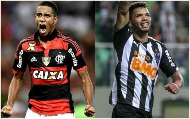 Flamengo e Atlético-MG disputam vaga na final da Copa do Brasil (Foto: Reprodução/Globo Esporte)