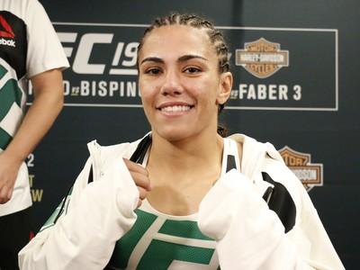 Jéssica Andrade, Jéssica Bate-Estaca, MMA, UFC 199 (Foto: Evelyn Rodrigues)