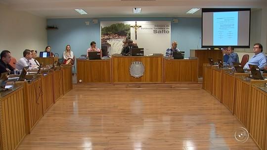 Vereadores de Salto aprovam redução do número de parlamentares para a próxima legislatura