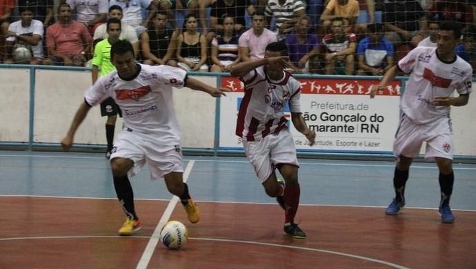 Humildes x URV futsal são gonçalo (Foto: Rayane Rocha)