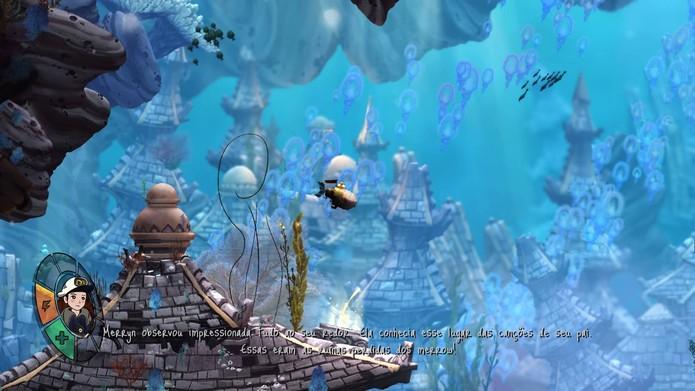 Song of the Deep tem gráficos na medida certa (Foto: Reprodução/Felipe Vinha)