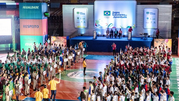 Jogos Escolares da Juventude (Foto: rede globo)