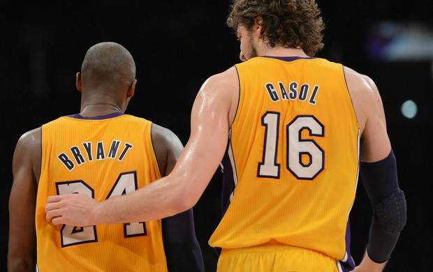 Após bronca de Kobe Bryant, Pau Gasol desfalca Lakers em duelo desta terça (Foto: Getty Images)