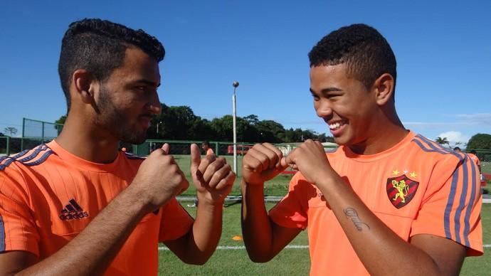 Vinicius e Juninho Sub-17 Sport 2 (Foto: Malu Veiga)