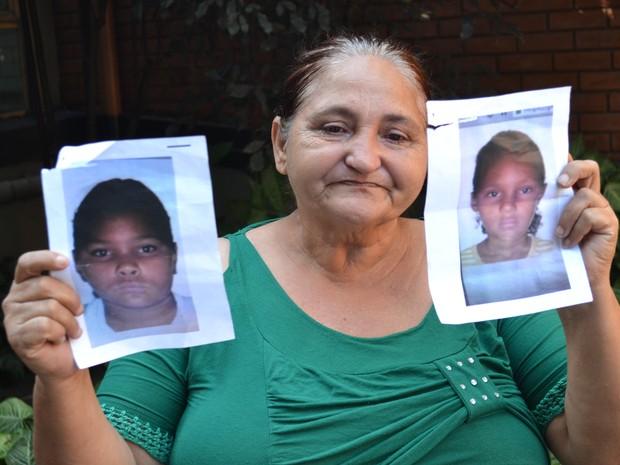 Mãe procura filhas de 12 e 14 anos desaparecidas há dois meses no Espírito Santo (Foto: Juirana Nobres/G1)