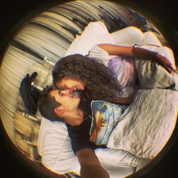Livian Aragão e Nicolas Pratesr (Foto: Reprodução / Instagram)