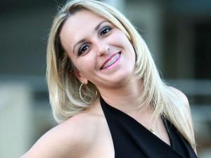 Mery Hellen está na Guarda Civil há sete anos (Foto: Mery Hellen/Arquivo pessoal)