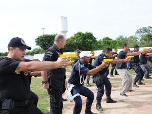 Guardas Municipais de Quissamã fazem curso de qualificação (Foto: Divulgação/ Prefeitura de Quissamã)
