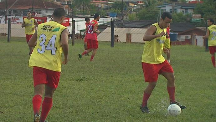 Galvez treino (Foto: Reprodução/TV Acre)