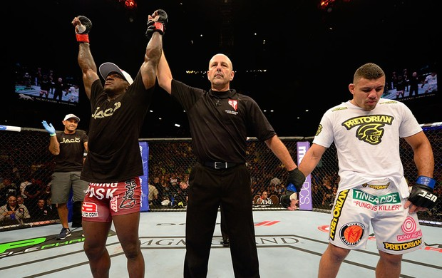 UFC 148 Melvin Guillard Fabricio morango (Foto: Agência Getty Images)