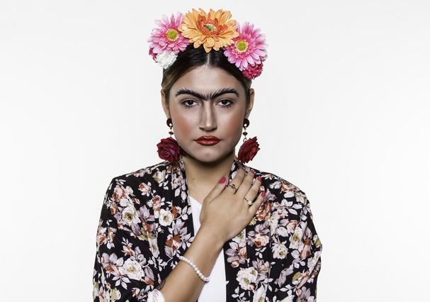 Resultado de imagem para fantasia  Frida Kahlo carnaval