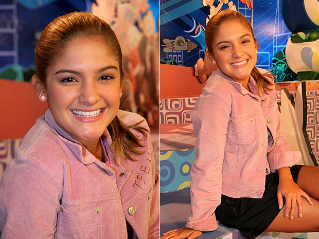 Yana Sardenberg foi apresentadora no programa TV Globinho (Foto: Cedoc / TV Globo)
