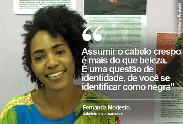 Fernanda Modesto, aspas (Foto: Eduardo Pereira)