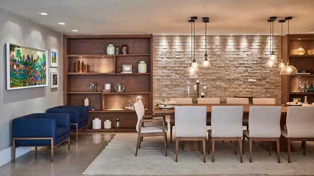 Design Feito Para Viver: dicas para uma sala de jantar perfeita (Foto: Divulgao/Lder Interiores)