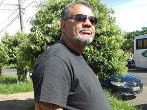 Inspetor de Polícia Civil de Uberlândia Cezarino Ituassu (Foto: Caroline Aleixo/G1)