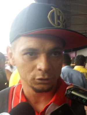 Pará, desembarque Flamengo (Foto: Fred Gomes)